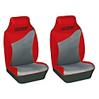 more details on Cosmos Aquasport Water Resistant Front Seat Covers - Red.
