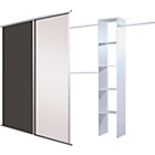 more details on Kids Chalkboard Magnetic Sliding Wardrobe Door Basix Kit.