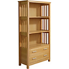 more details on Ashford 2 Drawer Bookcase - Ash Veneer.