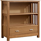 more details on Ashford Low Bookcase - Ash Veneer.