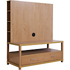 more details on Chicago Flat Screen TV Unit - Oak.