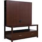 more details on Chicago Flat Screen TV Unit - Walnut.