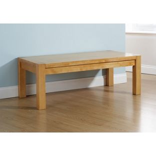 Evelyn Coffee Table - Natural Oak, width 120cm