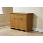 more details on Fuse Two Door Two Drawer Sideboard - Oak.