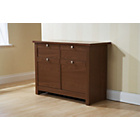 more details on Fuse Two Door Two Drawer Sideboard - Walnut.