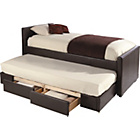more details on Trundle Bed - Chocolate PU.