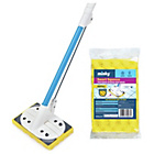 more details on Minky Smart Squeeze Mop and Replacement Head.