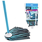 more details on Minky Smart Scrub Strip Mop and Replacement Head.