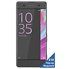 more details on EE Sony XA Mobile Phone - Black.