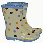 more details on Emma Bridgewater Women's Short Spot Wellies - Size 3.