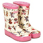 more details on Emma Bridgewater Girls' Dancing Mice Wellies - Size 9.