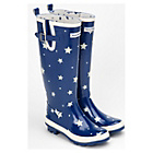 more details on Emma Bridgewater Women's Tall Starry Skies Wellies - Size 8.