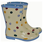 more details on Emma Bridgewater Women's Short Spot Wellies - Size 6.