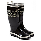 more details on Emma Bridgewater Women's Tall Toast Wellies - Size 3.