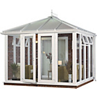 more details on Edwardian Full Height Small Conservatory - White.