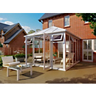 more details on Edwardian Full Height Large Conservatory - White.