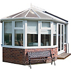 more details on Victorian Dwarf Wall Small Conservatory - White.