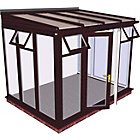 more details on Traditional Full Height Medium Conservatory - Woodgrain.