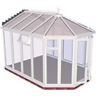 more details on Victorian Full Height Large Conservatory-White.