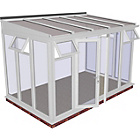 more details on Premium Traditional Large Lean to Conservatory - White.