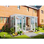 more details on Premium Traditional Medium Lean to Conservatory - White.