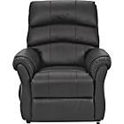 more details on HOME Warwick Powerlift Leather Recliner Chair - Black.