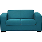 more details on Ava Fabric Compact Sofa - Teal.
