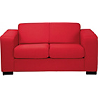 more details on Ava Fabric Compact Sofa - Red.