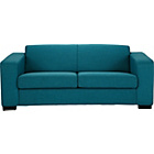 more details on Ava Fabric Large Sofa - Teal.