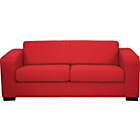more details on Ava Fabric Large Sofa - Red.