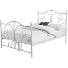more details on Ava Kingsize Bed Frame - White.