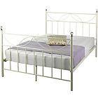 more details on Crystal Kingsize Bed Frame - Ivory.