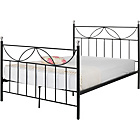 more details on Crystal Double Bed Frame - Black.