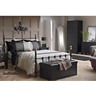 more details on Evelyn Double Bed Frame - Black.