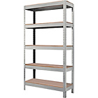 more details on Quick Assembly Shelving Unit - Grey.
