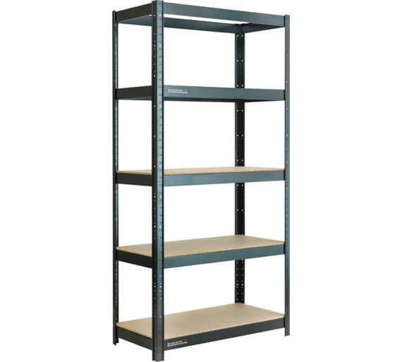 Buy 5 tier heavy duty shelving unit at your for Online shelf design tool