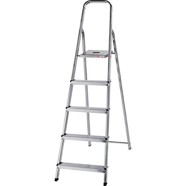 Buy Abru 5 Tread Stepladder 2 78m Reach Height At Argos