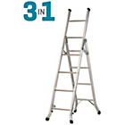 more details on Abru Domestic Aluminium 3 Way Combination Ladder.