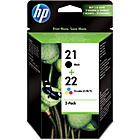 more details on HP 21/22 Combo-pack Inkjet Print Cartridges.