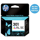 more details on HP 301 Tri-colour Ink Cartridge.