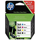 more details on HP 364 Combo-pack Cyan/Magenta/Yellow/Black Ink Cartridges.