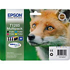 more details on Epson Fox T1285 Black and Colour Ink Cartridge Pack.