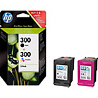 more details on HP 300 Black and Colour Ink Cartridge - Twin Pack.