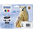 more details on Epson Polar Bear Black and Colour Ink Cartridge Combo.