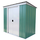 Arrow Pent Metal Garden Shed - 6 x 4ft
