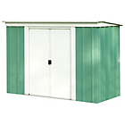 more details on Arrow Pent Metal Garden Shed - 8 x 4ft.