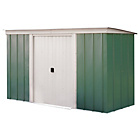 more details on Arrow Pent Metal Garden Shed - 10 x 4ft.