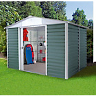 more details on Yardmaster Metal Apex Shiplap Shed - 10 x 6ft.
