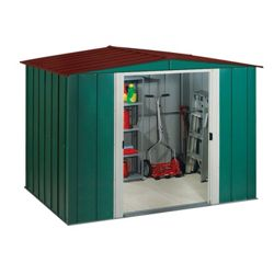 Arrow Apex 8 x 6ft Metal Garden Shed