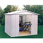 more details on Yardmaster Apex Metal Garden Shed - 8 x 7ft.